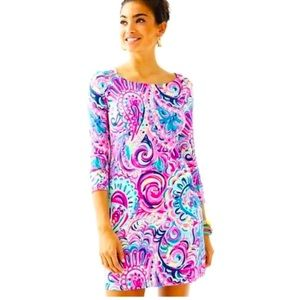 Lilly Pulitzer Sophie Dress Psychedelic Sunshine